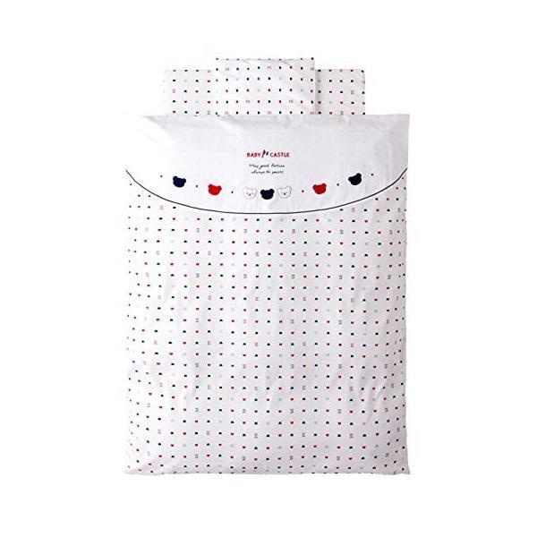 赤ちゃんの城 ベビー布団セット トリコロール エコホールサンドマット 10%OFF 安全 日本製