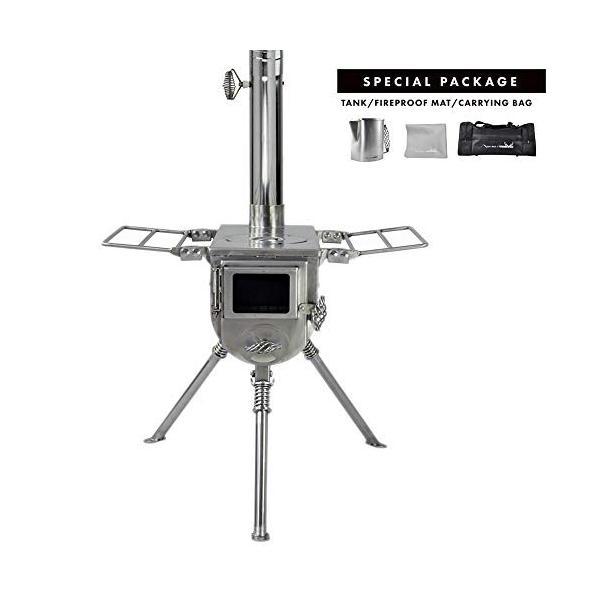 売り込み テンマクデザイン 人気の製品 ウッドストーブ スペシャルパッケージ S
