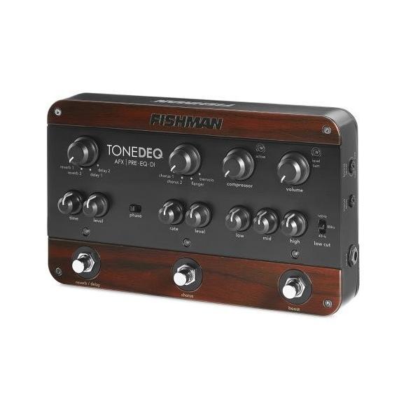 FISHMAN 訳あり商品 TONEDEQ アコースティックギター用エフェクター プリアンプ 並行輸入品 期間限定特別価格