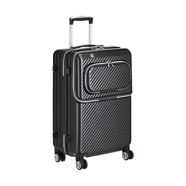 レジェンドウォーカー スーツケース 特別セール品 ジッパー ハードスーツケース 送料無料でお届けします フロントオープン 保証付 双輪 50L 61 6024-55