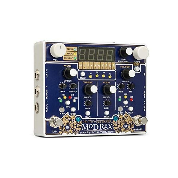 Electro Harmonix エフェクターMod Rex Polyrhythmic 信憑 並行輸入品 Modulator 日本