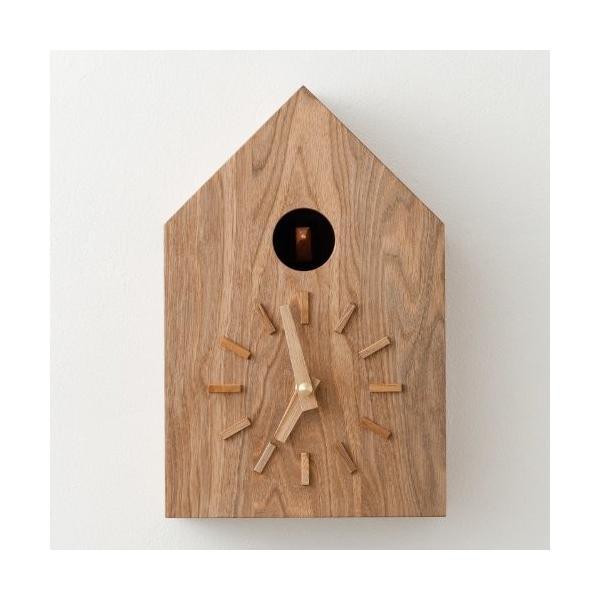 鳩時計 流行のアイテム クルミ クリアランスsale!期間限定! 茶