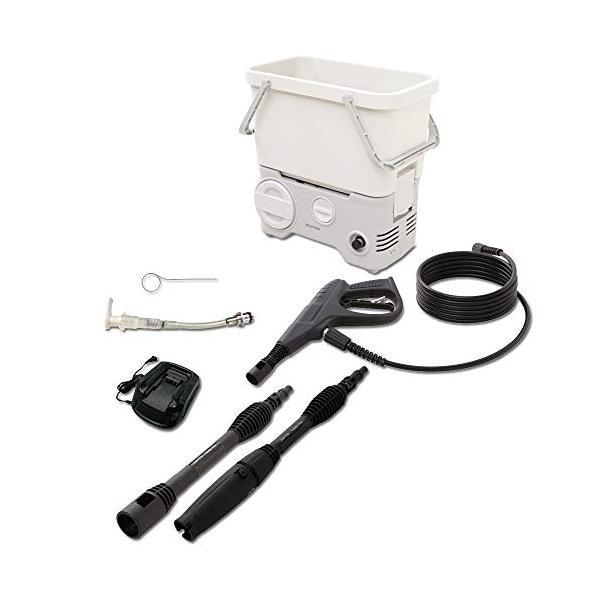 アイリスオーヤマ 高圧洗浄機 温水対応 超激安特価 充電タイプ 割引 SDT-L01N タンク式