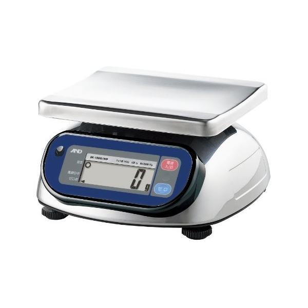 Aamp;D 取引証明用 超特価 防塵 防水デジタルはかり SK-1000iWP-A2 ひょう量:1000g 192 使用範囲:20g1000g 皿寸法:232 W 最小表示:1g 期間限定お試し価格