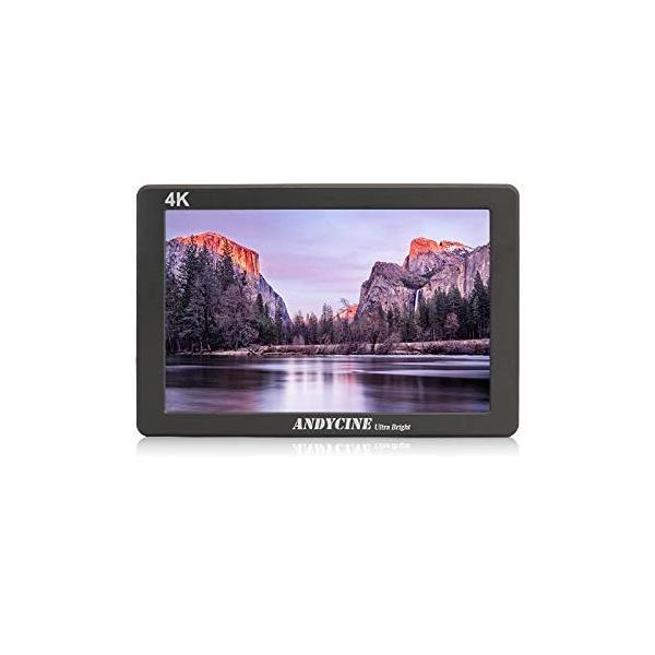 液晶フィールドモニター ANDYCINE X7 買収 カメラ用撮影モニター スタビライザー撮影確認 7インチ 2200nit お値打ち価格で 超高輝度 1920x12