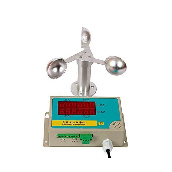 YJINGRUI 風速計 デジタル 風量計 風速センサー 測定範囲056m s 警報機能付き 港 アルミ合金 卓越 クレーン 発電所 鉄道 メーカー公式ショップ