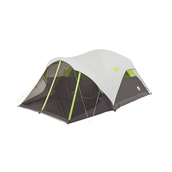Coleman Steel Creek 6 Person Fast 並行輸入品 Screenroom Dome 信用 Pitch with 日本メーカー新品