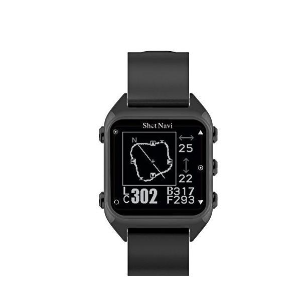 ショットナビ ハグ 結婚祝い GPSゴルフナビ 期間限定特別価格 腕時計型 Hug Navi Shot ブラック