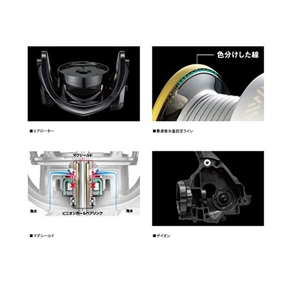 ダイワ Daiwa スピニングリール エギング 14 2500サイズ 直営店 定番の人気シリーズPOINT ポイント 入荷 エメラルダス MX 2508PE-H