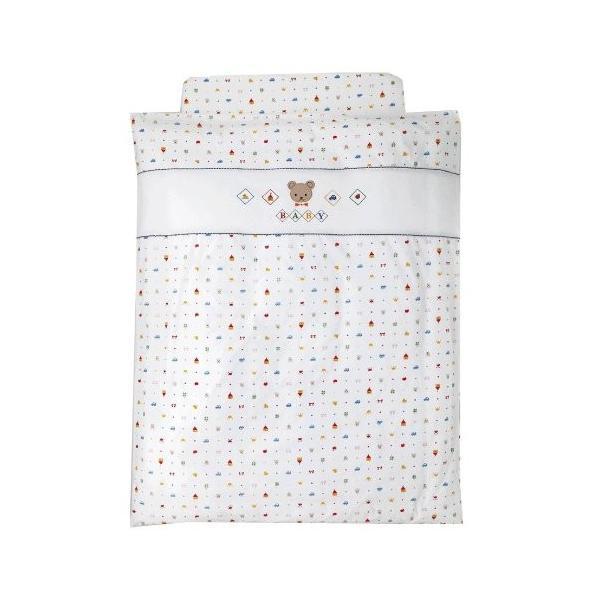 西川産業 babypuff 洗えるシリーズ カバーリング組ふとん 通信販売 ホワイト 新色 LRE2801021-W LP9020
