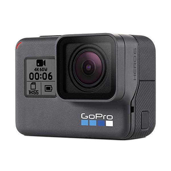 国内正規品 ついに再販開始 GoPro メーカー公式 アクションカメラ Black CHDHX-601-FW HERO6