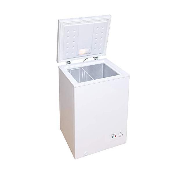 アイリスオーヤマ ついに再販開始 冷凍庫 100L 上開き 特価 ノンフロン チェストフリーザー 静音 温度調節6段階 省エネ コンパ 大容量