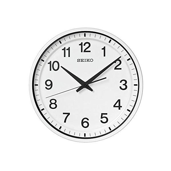 セイコー クロック 掛け時計 衛星 電波 SEIKO 白 お買い得 舗 GP214W アナログ