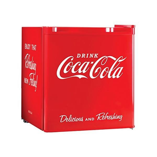 コカ 本店 コーラ Coca-Cola 冷蔵庫 小型 48L ワンドア 送料無料でお届けします 右開き 1ドア 並行輸入品 ペルチェ方式