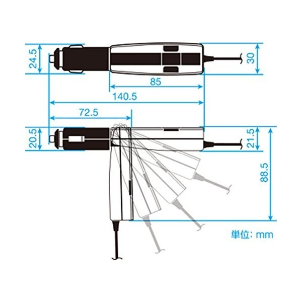 ケンウッド(KENWOOD) スタイリッシュな141CH FMトランスミッター レッド CAX-FT20-R hm-selections 07