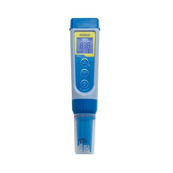 蔵 pHメーター ECメーター 売り込み PC5 pH EC一体型水質測定器 導電率 温度 電極交換可能 TDS 塩分濃度