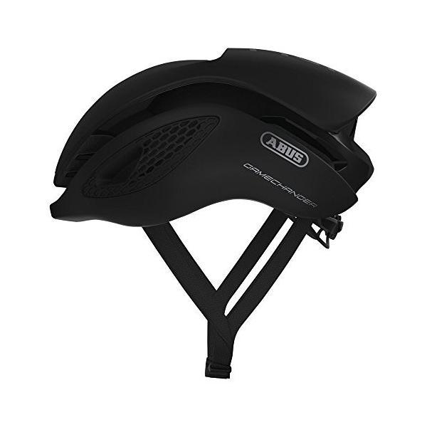 ABUS ヘルメット GAMECHANGER ゲームチェンジャー モビスターチーム採用モデル セール品 休み ブラック エアロヘルメット Lサイズ