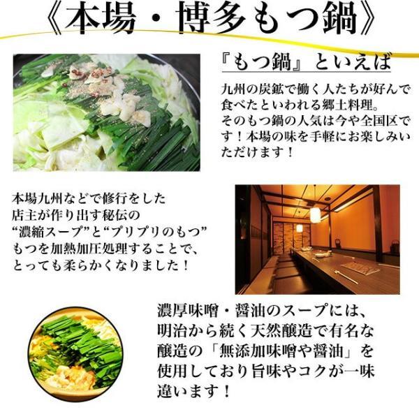 もつ鍋 セット 送料無料 2人前 1000円ぽっきり 味噌 白味噌 醤油鍋 キムチ鍋 豆乳鍋 hmgift 06