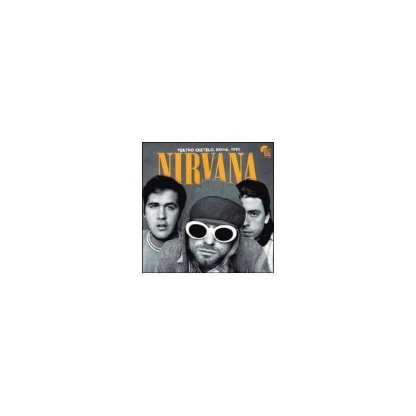 Nirvana ニルバーナ / Teatro Castello Roma 1991   〔LP〕