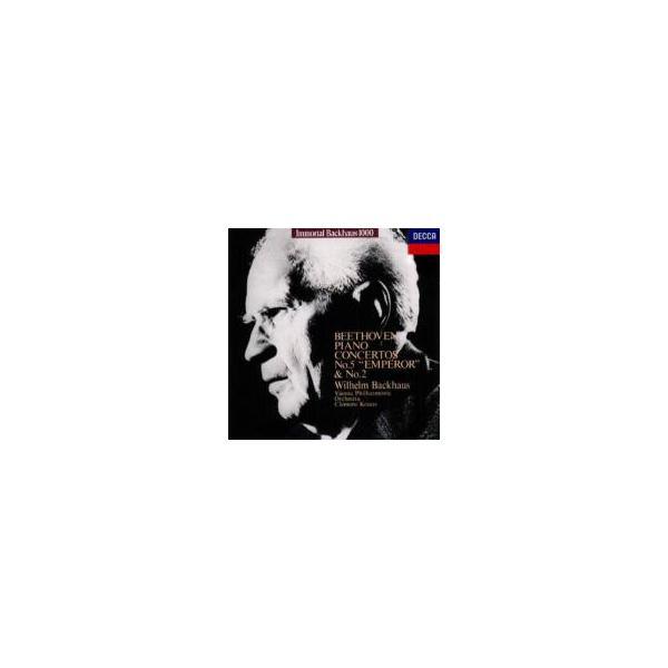 Beethoven ベートーヴェン / ピアノ協奏曲第2番、第5番『皇帝』 バックハウス(p)クラウス&ウィーン・フ