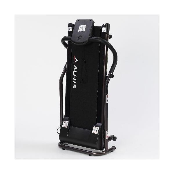 ウォーキングマシン アルインコ プログラム電動ウォーカー AFW3415 家庭用 組立不要 プログラム搭載 ランニングマシーン 心拍数測定 メーカー保証付|hmy-select|02