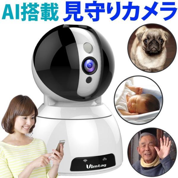 キャッシュレス還元 送料無料 ワイヤレス ネットワークカメラ ベビーモニター 防犯カメラ Vimtag CP3 ( CP1-AI) AI 300万画素