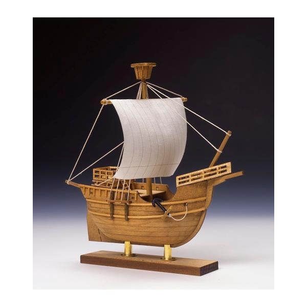 ミニ帆船 No.4 カタロニア船 木製帆船模型 UDJ-F-NO4-KATARONIA-MINI