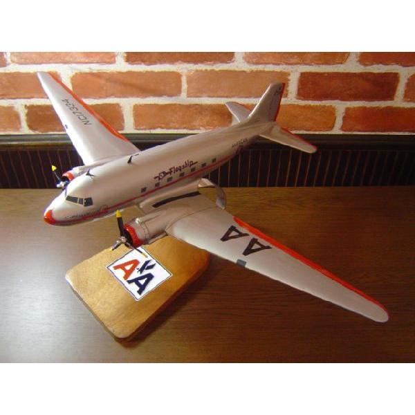 1/48  DC−3 AMERICAN AIRLINES(ダグラス) 模型飛行機  民間航空機(旅客機) ソリッドモデル