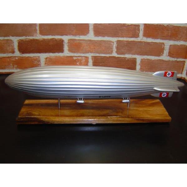 【再入荷しました!!】 1/500  ツェッペリン ヒンデンブルグ号 (D−LZ129) 模型飛行機 飛行船 ソリッドモデル  木製模型