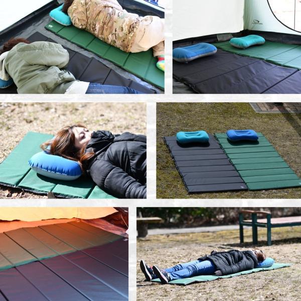 【送料無料】車中泊 キャンプマット アウトドア キャンプ レジャー マット 折りたたみ 登山 レジャーシート キャンピングマット|hobbyone|16