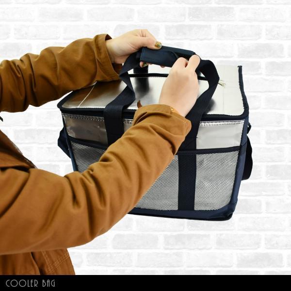 【送料無料】保冷バッグ クーラーバッグ 30L ソフト 軽量 折りたたみ キャンプ アウトドア ショッピングバッグ|hobbyone|13