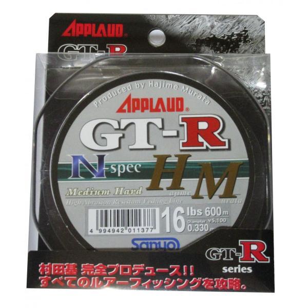 【メール便可】 GT-R N-Spec HM 600m 16lb(16ポンド) 4号 サンヨーナイロン APPLAUD GT-R Nスペック HM GTR ナイロンライン|hobbyshop-elnan