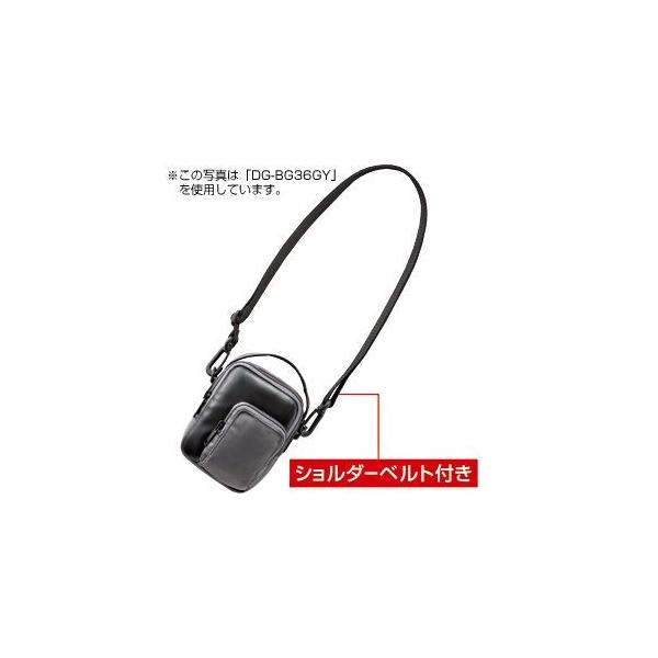 3WAYデジカメケース (DG-BG36BK) サンワサプライ(SANWA SUPPLY) 【メーカーお取り寄せ】