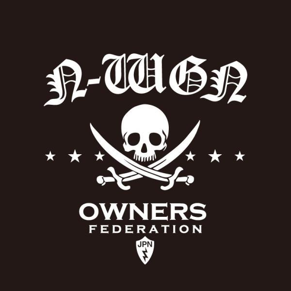 カッティングステッカー ホンダ(HONDA)N-WGN エヌワゴン pirates 車 カー ステッカー  アクセサリー シール ガラス オーダーメイド  転写[◆]