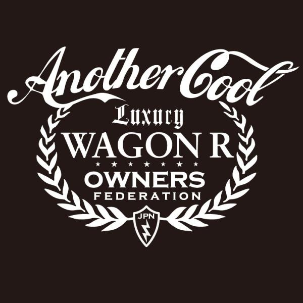 カッティングステッカー スズキ(SUZUKI)ワゴンR WAGONR anothercool 車 カー ステッカー  アクセサリー シール ガラス オーダーメイド  転写[◆]