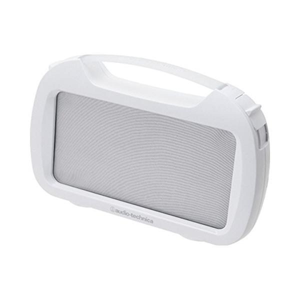 オーディオテクニカ アクティブスピーカー(防水タイプ) ホワイト AT-SPP400W WH