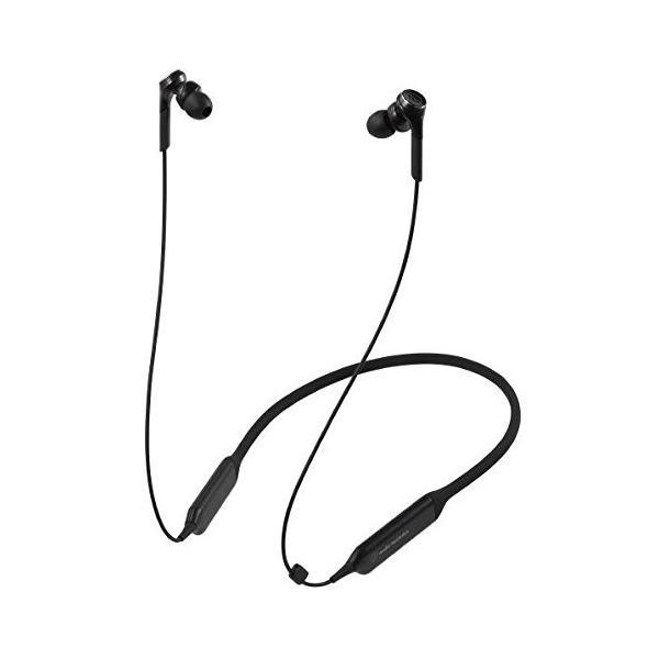 オーディオテクニカ Bluetooth対応 ダイナミック密閉型カナルイヤホン(ブラック)audio-technica SOLID BASS ATH-C