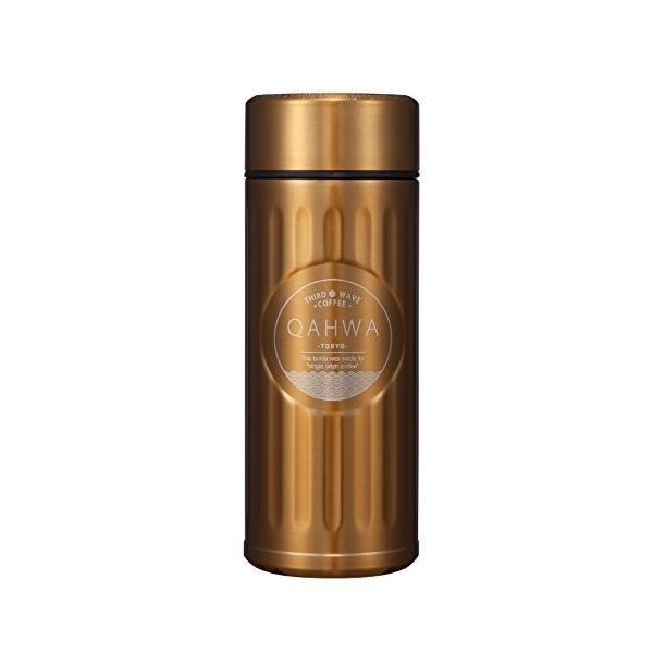 シービージャパン 水筒 ゴールド 420ml 直飲み カフア コーヒー ボトル QAHWA|hobipoke