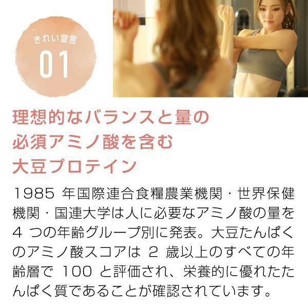 大豆プロテイン 3kg(ソイプロテイン 甘味料 香料無添加 大豆たんぱく食品)|hogarakagenki|04
