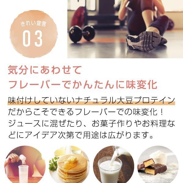 大豆プロテイン 3kg(ソイプロテイン 甘味料 香料無添加 大豆たんぱく食品)|hogarakagenki|08