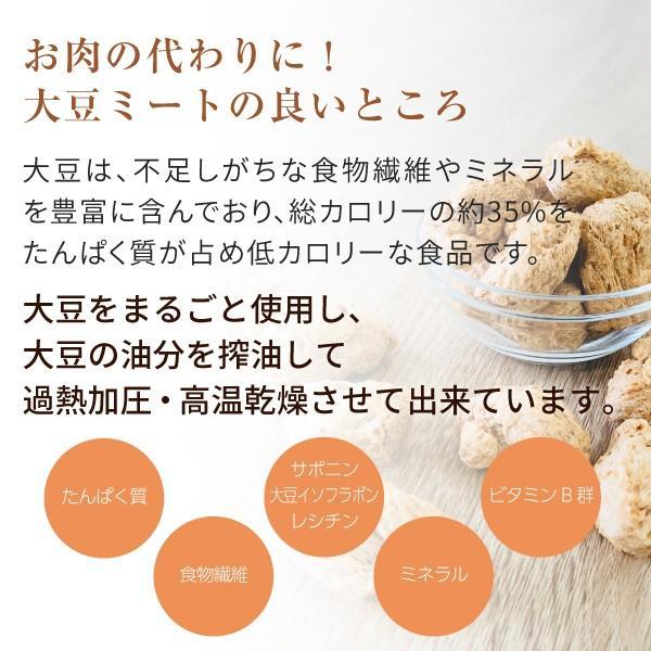 大豆ミート ビーフ フィレ バラ肉 タイプ 500g(ソイミート 業務用) hogarakagenki 04