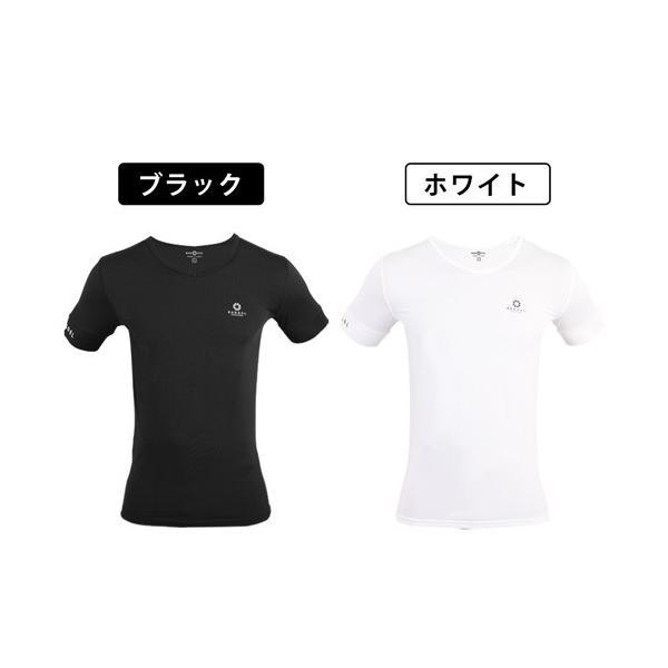 バンデル Vネック Tシャツ hogushiyahonpo
