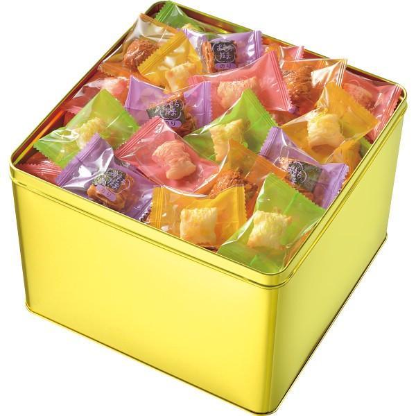 ギフト おかき 送料無料 亀田 おもちだま ゴールド缶(おもちだまG) hokkaido-gourmation