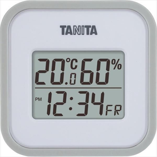 雑貨 ギフト タニタ デジタル温湿度計(グレー)(TT558GY) / インテリア 温度計 湿度計 温湿度計 スケール 贈り物 内祝い 快気内祝い 返礼 法事 法要 景品 粗品