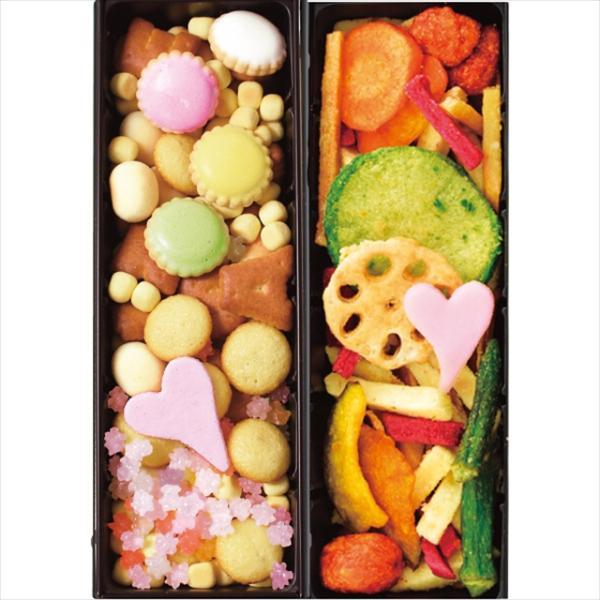 お中元 御中元 2021 和菓子 ギフト 送料無料 OLD NEW 2缶セット(吹き寄せ、野菜) / お菓子 和菓子 おかき せんべい 煎餅 お煎餅 セット 詰め合わせ