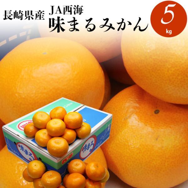 毎年12月上旬〜出荷開始 ギフト フルーツ みかん 送料無料 長崎JA西海 味まるみかん 5kg / 果物 青果 プレゼント ギフト