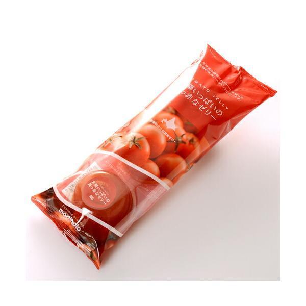 morimoto 太陽いっぱいの真っ赤なゼリー 3個入り morimoto ギフト お菓子 お土産 景品 プレゼント 粗品|hokkaido-okada