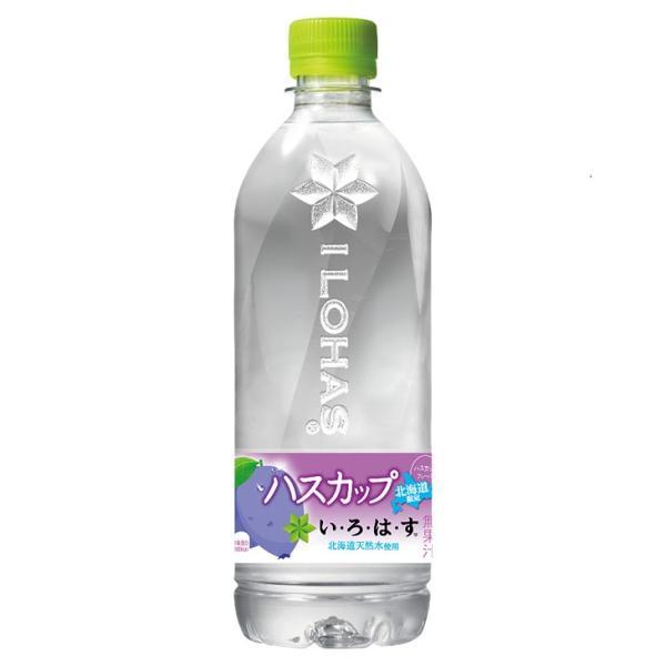 北海道限定い・ろ・は・す(いろはす) ハスカップ 555ml×1本 北海道 お土産