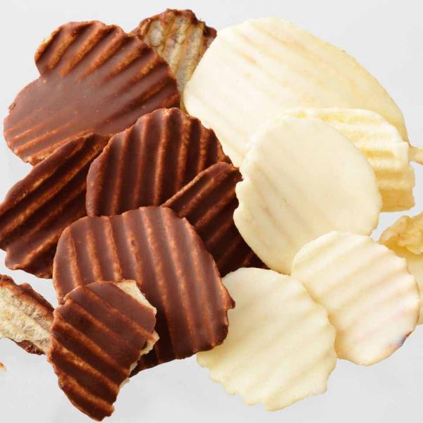 ロイズ ポテトチップチョコレート[オリジナル&フロマージュブラン] 北海道 プレゼント ハロウィン お菓子
