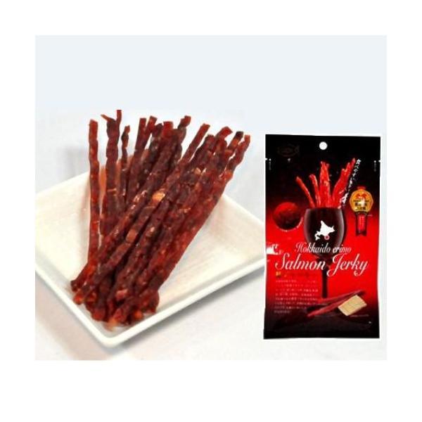 マルデン 鮭ジャーキー チーズ入 (小) 35g お取り寄せ プレゼント おつまみ 北海道